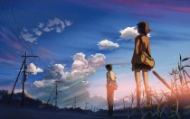 Аниме картинка 5 Centimeters per Second. Byousoku 5 Centimeter. Пять сантиметров в секунду