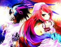 Аниме картинка A Dark Rabbit has Seven Lives. Itsuka Tenma no Kuro Usagi. Вечная демонесса и её чёрный кролик