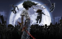 Аниме картинка Afro Samurai. . Афросамурай