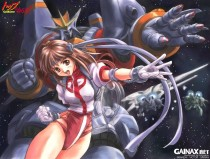 Аниме картинка Aim for the Top! Gunbuster [OVA-1]. Top o Nerae! Gunbuster [OVA-1]. Ганбастер: Дотянись до неба [OVA-1]