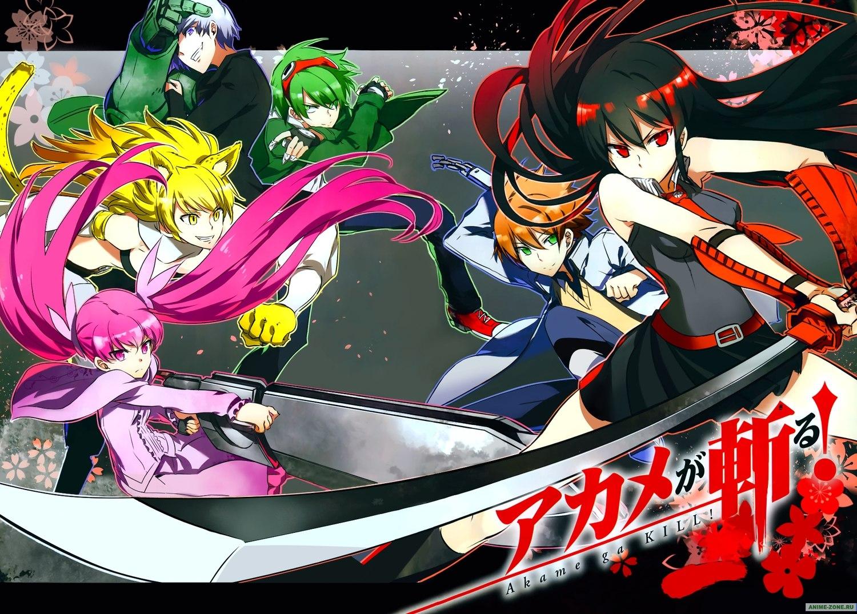 Аниме картинка Akame ga KILL!. Akame ga Kiru!. Аниме обои Убийца Акаме!