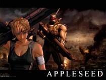 Аниме картинка AppleSeed 2004 [Movie-1]. Appurushido. Семя яблока [Фильм-1]