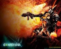 Аниме картинка Appleseed Ex Machina [Movie-2]. Appleseed Saga: Ex Machina. Яблочное зернышко [Фильм-2]