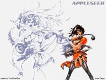 Аниме картинка Appleseed [OVA-1]. Appurushido. Семя яблока [OVA-]