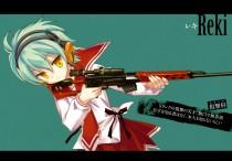 Аниме картинка Aria the Scarlet Ammo. Hidan no Aria. Ария Алая Пуля