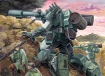 Аниме картинка Armored Trooper Votoms TV. Soukou Kihyou Votoms TV. Бронированные воины ВОТОМы [ТВ]