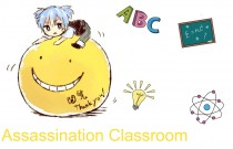 Аниме картинка Assassination Classroom. Ansatsu Kyoushitsu. Убийство в классной комнате