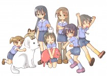 Аниме картинка Azumanga Daioh: The Animation. . Азуманга Дайо
