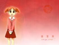 Аниме картинка Azumanga Daioh — The Very Short Movie. Azumanga Daioh Movie. Адзуманга Дайо - очень короткий фильм