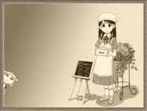 Аниме картинка Azumanga Web Daioh. あずまんがWEB大王. Адзуманга ВЕБ Дайо