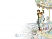 Аниме картинка Eden of The East the Movie I: The King of Eden. Higashi no Eden: Gekijouban I The King of Eden. Восточный Эдем - Король Эдема