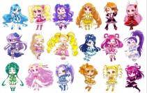 Аниме картинка Eiga Precure All Stars New Stage: Mirai no Tomodachi. . Все звезды Прекуа: Друзья будущего!