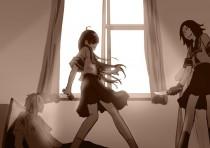 Аниме картинка Electromagnetic Girlfriend. Denpa Teki na Kanojo. Электромагнитная подружка