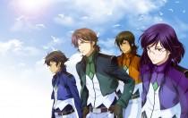 Аниме картинка Gekijouban Kidou Senshi Gundam 00: A Wakening of the Trailblazer. . Мобильный воин ГАНДАМ 00 - Фильм
