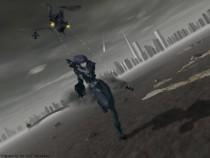 Аниме картинка Ghost in the Shell: Stand Alone Complex - The Laughing Man. Koukaku Kidoutai Stand Alone Complex The Laughing Man. Призрак в доспехах: Синдром одиночки OVA-1