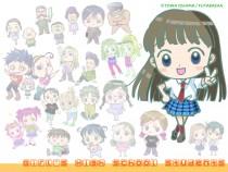 Аниме картинка Girl's High School Students. Joshikousei. Старшеклассницы