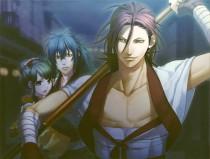 Аниме картинка Hakuouki: Reimei-roku. . Сказание о демонах сакуры [ТВ-3]