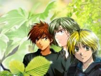Аниме картинка Hikaru No Go: New Year Special. Hikaru no Go: Special Hokutohai e no Michi. Хикару и Го: Новогодний спецвыпуск