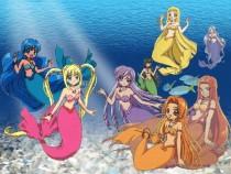 Аниме картинка Mermaid Melody Pichi Pichi Pitch. Mermaid Melody: Pichi Pichi Pitch. Мелодия Русалки: Пити Пити Питч (первый сезон)