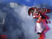 Аниме картинка Nakoruru. . Накоруру