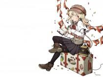 Аниме картинка Nanana's Buried Treasure. Ryuugajou Nanana no Maizoukin. Спрятанное сокровище Нанана