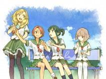 Аниме картинка Natsuiro Kiseki. . Чудо цвета лета