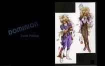 Аниме картинка New Dominion Tank Police. Tokusou Senshatai Dominion. Доминион: Сокрушительная танковая полиция