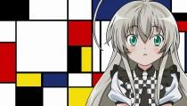 Аниме картинка Nyarko-san: Another Crawling Chaos. Haiyore! Nyaruko-san. Няруко-сан: новый хаос